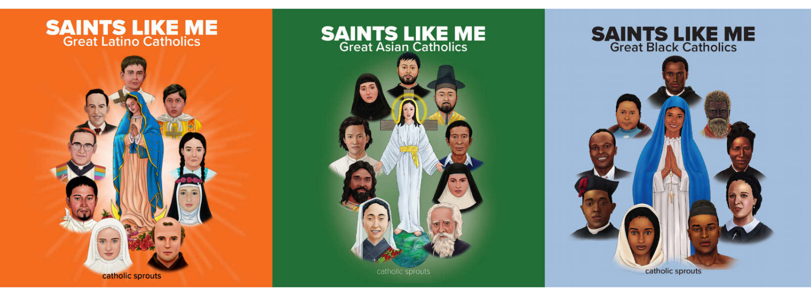 Saints Like Me Board Books